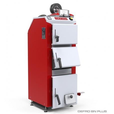 Твердопаливний котел Defro BN PLUS 36 кВт для недеревної біомаси