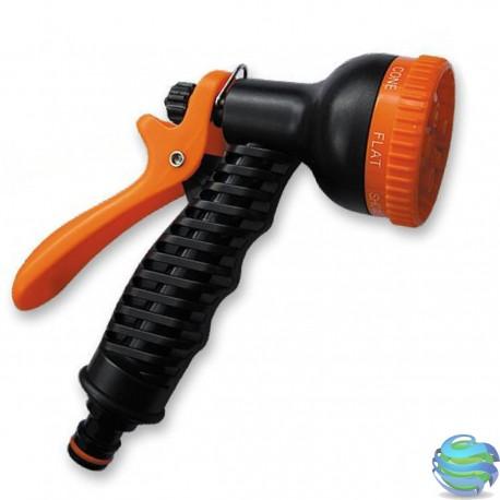 Пістолет для поливу пластиковий, 6 функцій ECO-2109