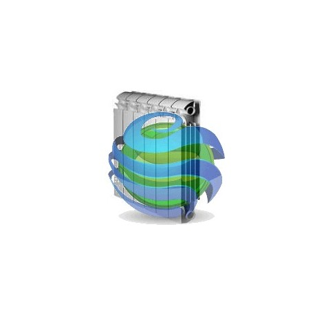 Радіатор GLOBAL VOX 500 ALLUMINIUM