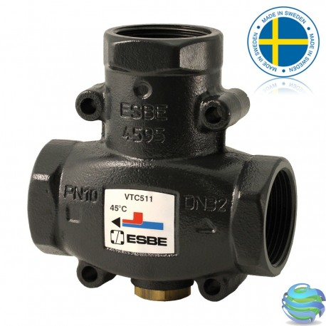 "Термостатичний клапан ESBE VTC 511 1"" 50°C"