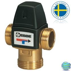 """ESBE VTA 322 3/4"""" 35-60°C термостатичний змішувальний клапан"""