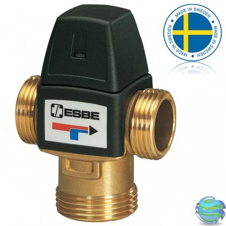 """ESBE VTA 372 1"""" 35-60°C термостатичний змішувальний клапан"""