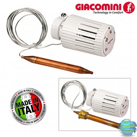Термостатична головка (t 20–70°С) GIACOMINI R462LX001 з накладним датчиком