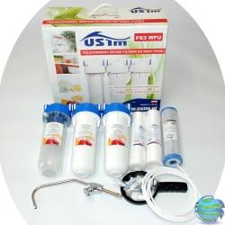 Фільтр для очистки води 3 ступені очистки USTM Poland FS3 WFU