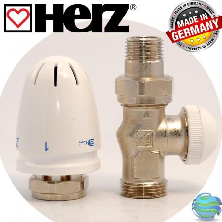 HERZ RTL 1920123 регулятор-обмежувач температури комплект, прямий. HERZ RTL