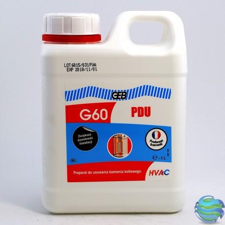 GEB G60 PDU Рідина для чистки котлів 1л