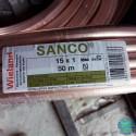 Мідна труба Wieland-SANCO Ø 15 м'яка (випалена)