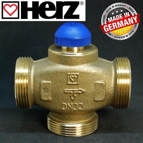 """Клапан 1 1/2"""" термостатичний триходовий HERZ 1776141"""