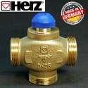 """Клапан 1 1/4"""" термостатичний триходовий HERZ 1776140"""