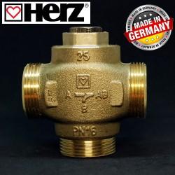 Триходовий термозмішувальний клапан HERZ-TEPLOMIX 55°C DN 25 11/4 1776613