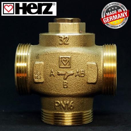 Триходовий термозмішувальний клапан HERZ-TEPLOMIX DN 32 11/2 1776614
