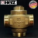 Триходовий термозмішувальний клапан HERZ-TEPLOMIX 61°C DN 25 11/4 1776603