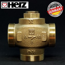 Триходовий термозмішувальний клапан HERZ-TEPLOMIX 61°C DN 32 11/2 1776604